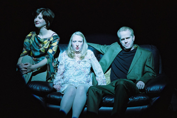 Erin Wells, Diana Swayze and John Murphy in 'Valparaiso'